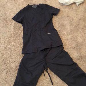 Grey's anatomy scrubs- gray size xs